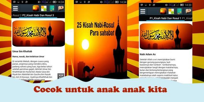 25 Kisah Nabi Rasul & Sahabat screenshot 1