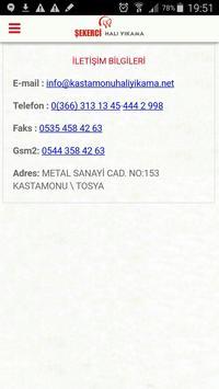 SEKERCİ HALI YIKAMA apk screenshot