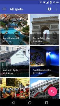 Guide de voyage poster