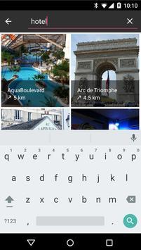 Guide de voyage apk screenshot