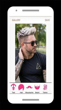 Boys Hairstyle Photo Editor Pro screenshot 1