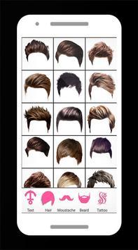 Boys Hairstyle Photo Editor Pro screenshot 2