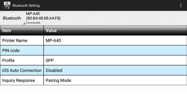 SII MP-A Utility screenshot 22