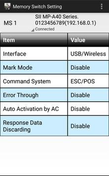 SII MP-A Utility screenshot 2
