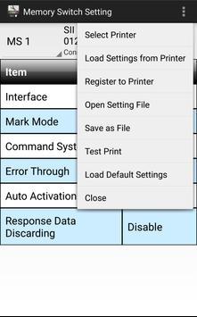SII MP-A Utility screenshot 4