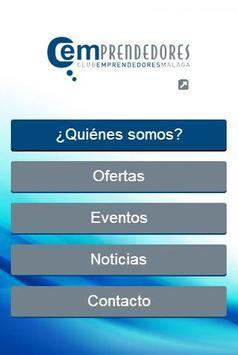 Club Emprendedores de Málaga poster