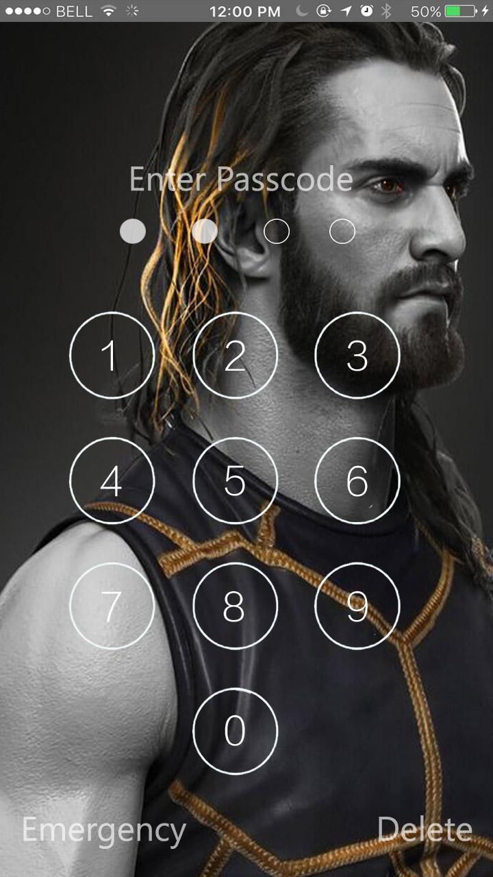 Seth Rollins Lock Screen Hd Wallpaper For Android Apk Download - roblox seth rollins roblox free account bugmenot