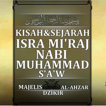 Sejarah ISro MI'RAJ NABI MUHAMMAD SAW poster