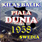 SEJARAH PIALA DUNIA 1958 icon