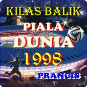 SEJARAH PIALA DUNIA 1998 icon