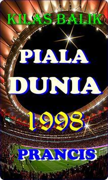 SEJARAH PIALA DUNIA 1998 poster