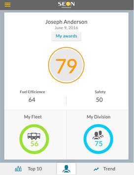 Driver Behaviour Scorecard screenshot 2