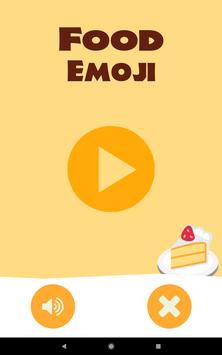 Food Emoji - Free Match 3 Game apk screenshot