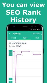 Seo Rank Tracker apk screenshot