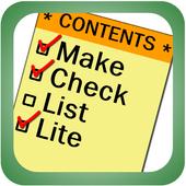 Make CheckList Lite icon