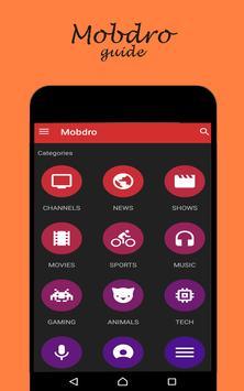 Guide Mobdro Tv poster