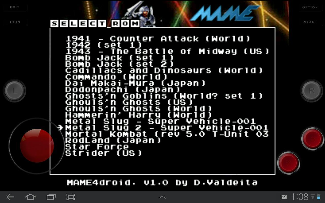 Index Of Roms Mame