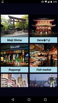 Attractive Places In Tokyo poster
