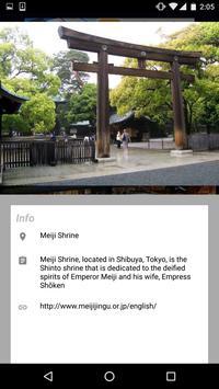Attractive Places In Tokyo apk screenshot