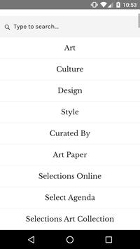 Selections The Magazine apk screenshot