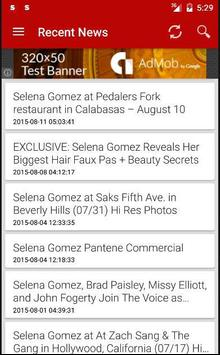 Selena News screenshot 2