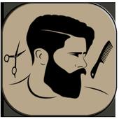 men hair beard style icon