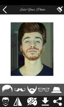 men hair beard style apk screenshot