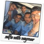 selfie with neymar hd icon
