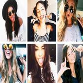 Photo Poses for girls selfie (offline) ✓✓✓✓✓ icon