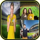 Photo stadium background edit icon