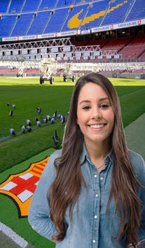 Photo stadium background edit poster