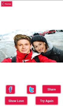 One Direction Selfie - Free apk screenshot