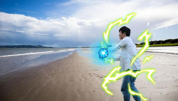 Rasengan Camera Photo Maker screenshot 1