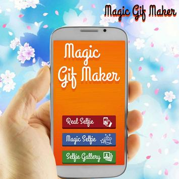Magic GIF Maker Live Wallpaper poster