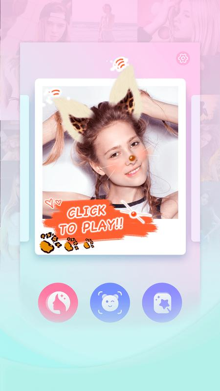 Candy selfie camera photo editor kawaii filter for for Candy camera editor de fotos