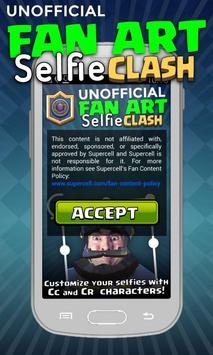 Selfie FAN for Clash Royale poster