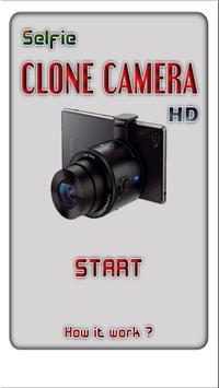 Selfie Clone Camera HD poster