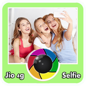 Selfie for jio 4g icon