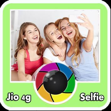 Selfie for jio 4g poster