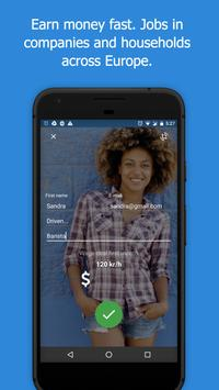 SelfieJobs-Earn more money and get a job faster! poster