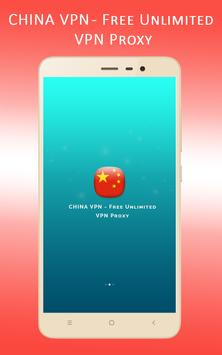 Chinaa VPN - Free Unlimited VPN Proxy poster