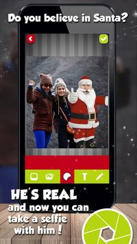 Selfie With Santa Claus Christmas Photo Editor screenshot 1