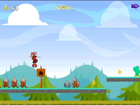 AHO Bananas GIRL On A Hoverboard apk screenshot