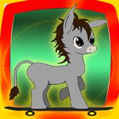 My Adventurer Little Pony Skateboarding icon
