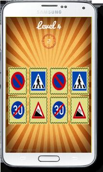 Road Signs Symbols Matching screenshot 1