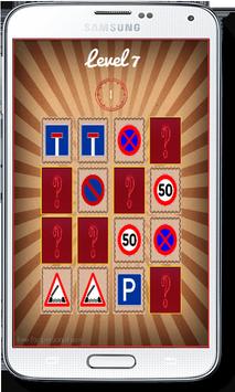 Road Signs Symbols Matching screenshot 5