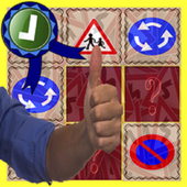Road Signs Test Matching Games icon
