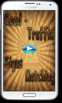 Road - Traffic Signs Matching poster
