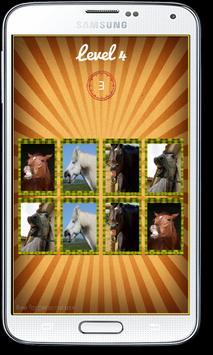 Funny Horses Faces Matching apk screenshot