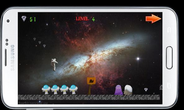 Adventur Astronaut In The Moon apk screenshot
